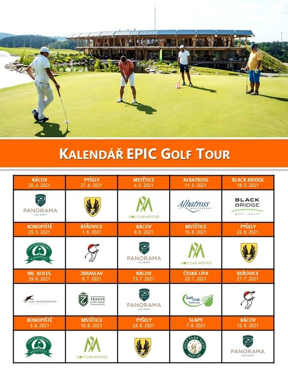 Epic Golf Tour 2021